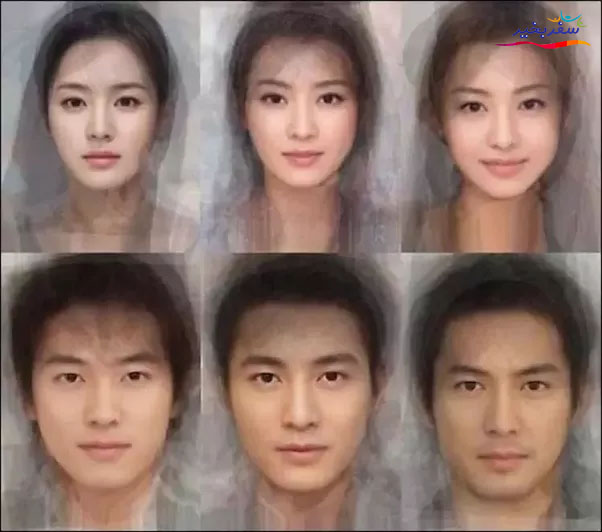 Japanese facial structure